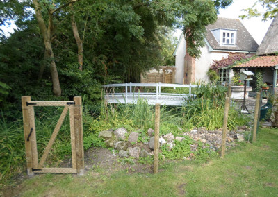 Securing a Pond and Garden